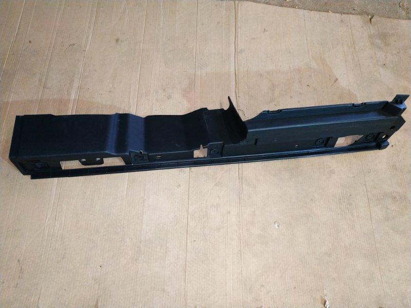Панель пола багажного отделения Audi Q7 4L 2013 задний левый (б/у)