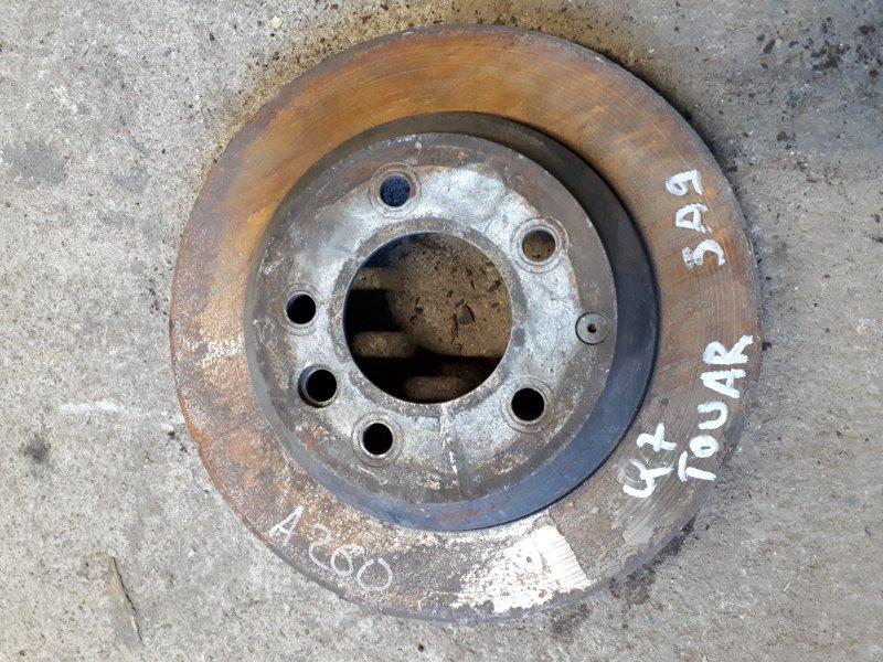 Тормозной диск Audi Q7 4L 2005 задний (б/у)