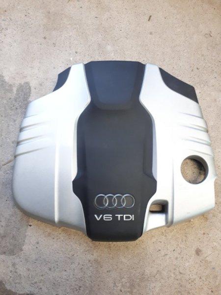 Крышка двигателя Audi Q7 4L 3.0 TDI 2013 (б/у)