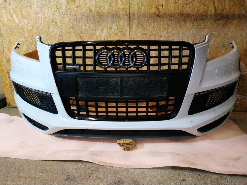 Бампер Audi Q7 4L 3.0 TDI 2013 передний (б/у)