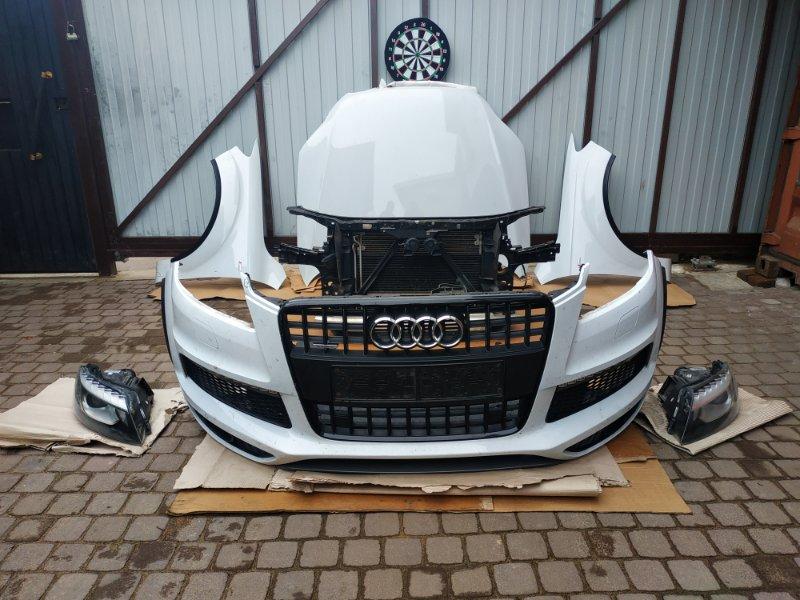 Ноускат Audi Q7 4L 3.0 TDI 2013 передний (б/у)