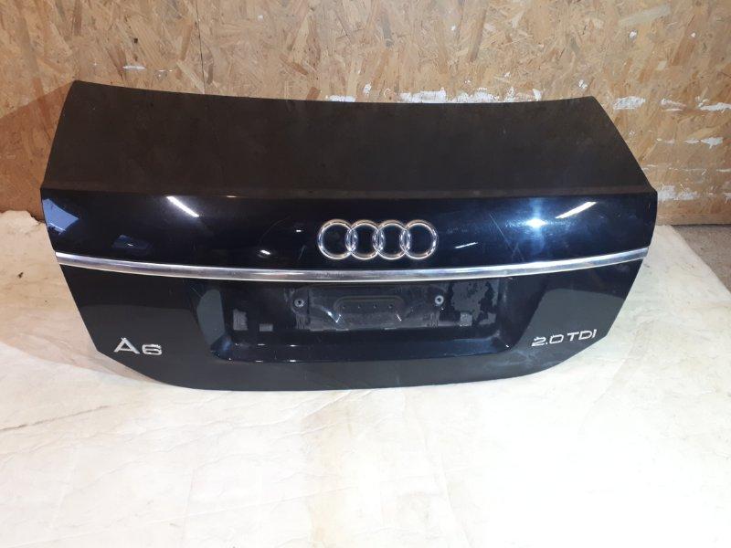 Крышка багажника Audi A6 C6 2.0 TDI 2008 задняя (б/у)