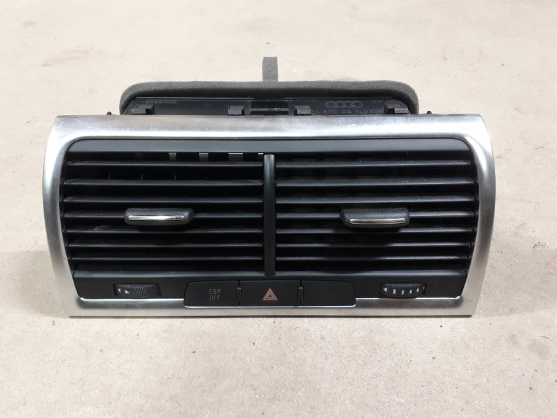 Воздушный дефлектор Audi Q7 4L 2010 передний (б/у)