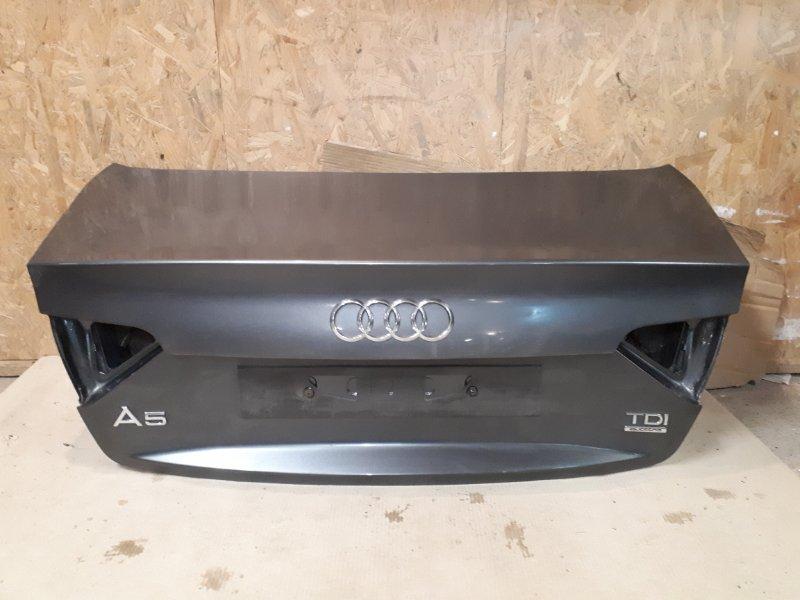 Крышка багажника Audi A5 8T 1.8 CJE 2012 задняя (б/у)