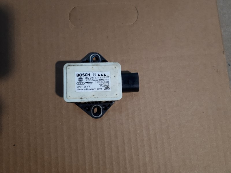 Датчик ускорения Audi A5 8T 1.8 CJE 2012 (б/у)