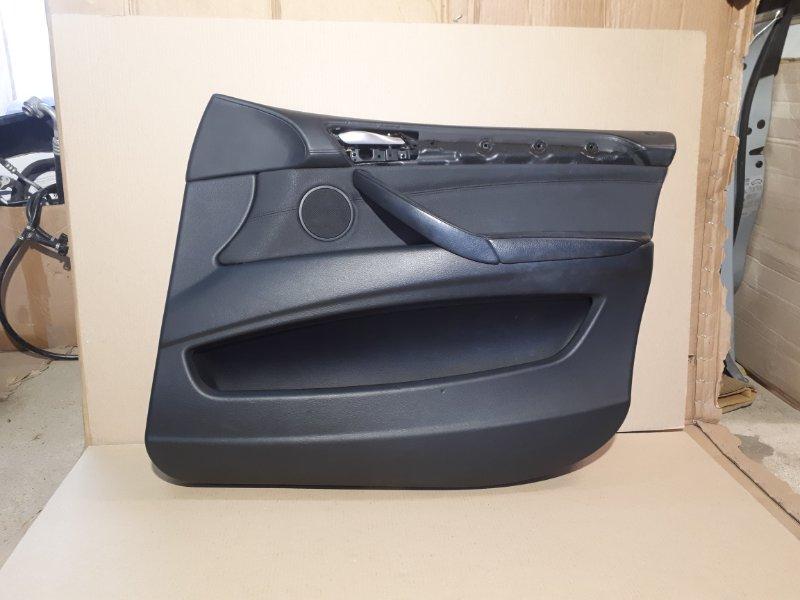 Обшивка двери Bmw X6 E71 2009 передняя правая (б/у)