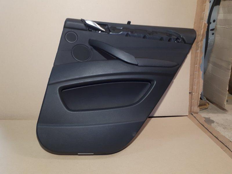 Обшивка двери Bmw X6 E71 2009 задняя правая (б/у)