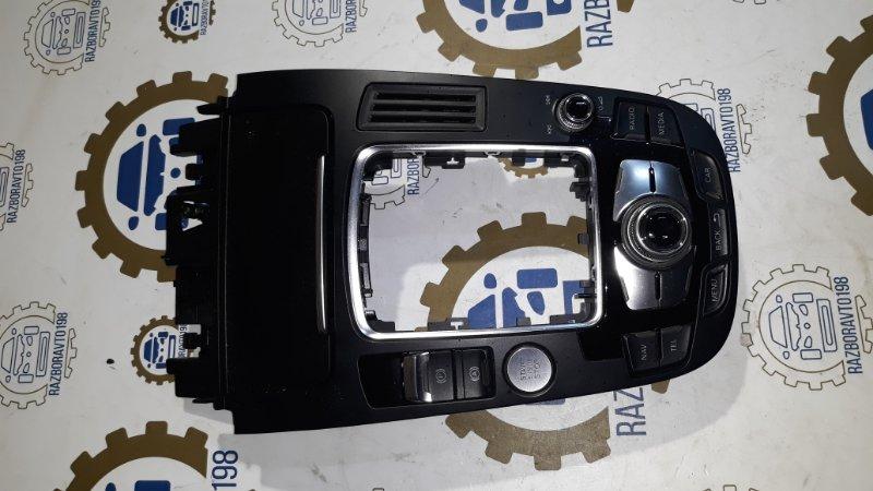 Панель управления мультимедиа Audi A4 B8 2013 (б/у)