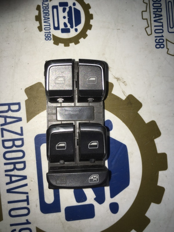 Кнопка стеклоподъемника Audi A5 8T 1.8 CJE 2012 (б/у)