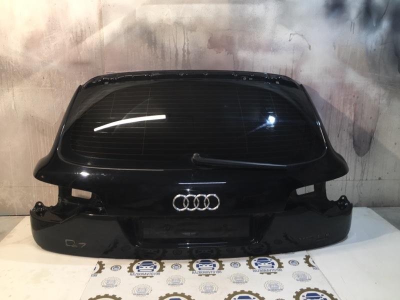 Крышка багажника Audi Q7 4L 2010 задняя (б/у)