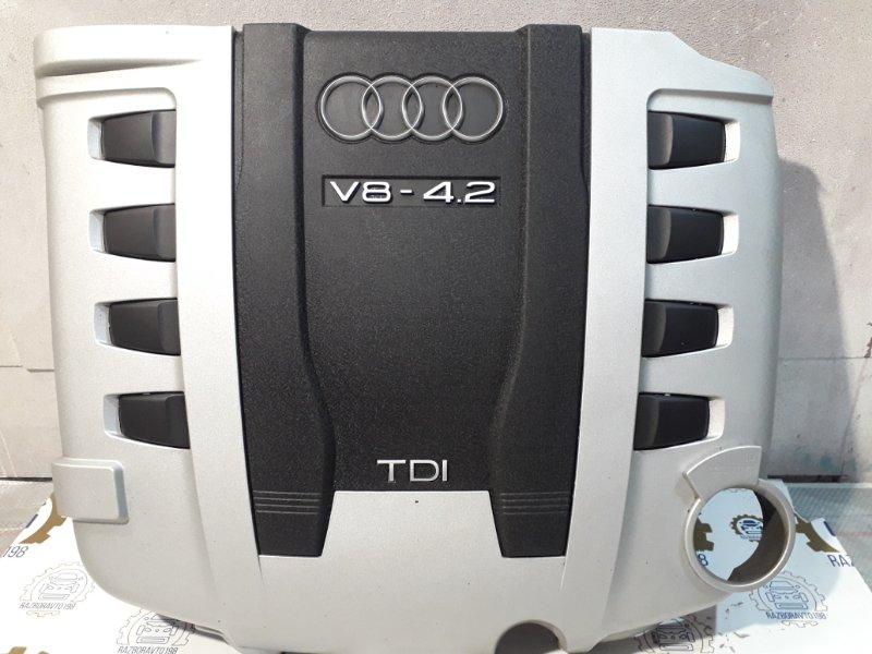 Крышка двигателя Audi Q7 4L 4.2 TDI 2009 передняя (б/у)