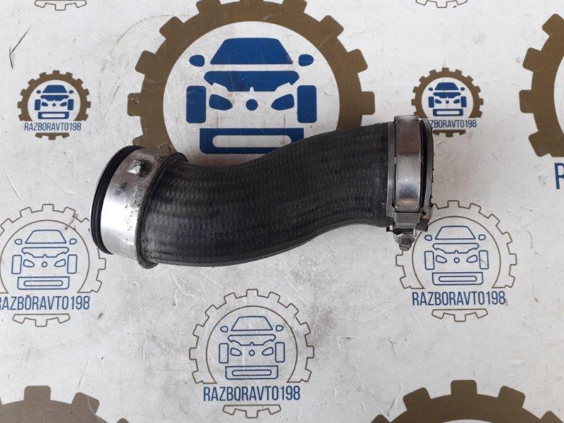 Патрубок интеркулера Audi Q7 4L 3.0 TDI 2012 передний нижний (б/у)