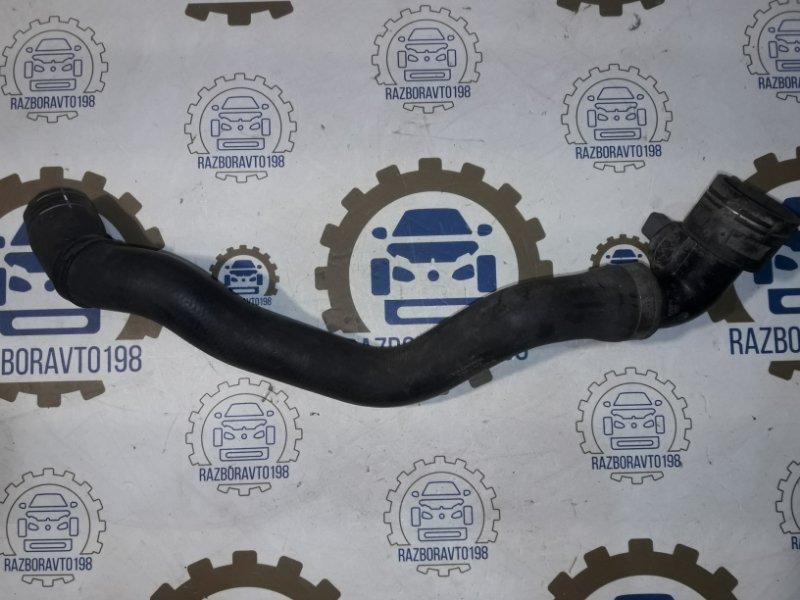 Патрубок радиатора охлаждения Audi Q7 4L 3.0 TDI 2012 нижний (б/у)
