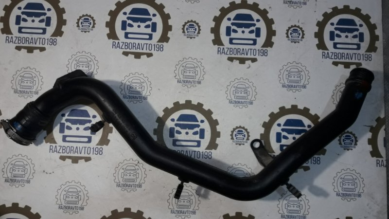 Патрубок интеркулера Audi Q7 4L 3.0 TDI 2012 (б/у)
