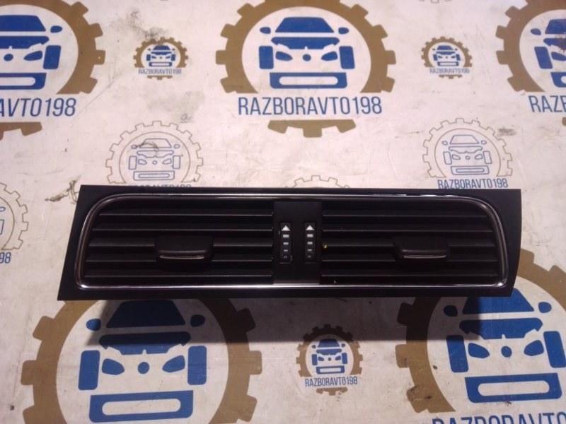 Воздушный дефлектор Audi A4 B8 2011 передний (б/у)