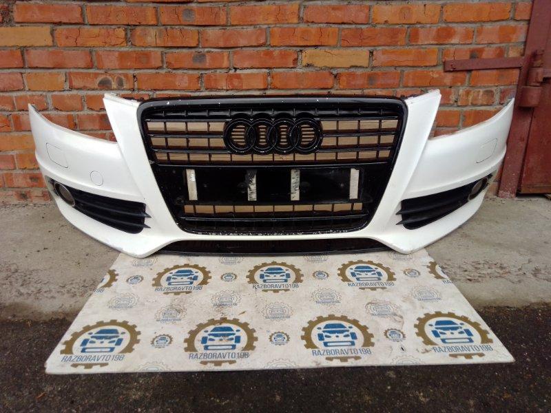 Бампер Audi A4 B8 2011 передний (б/у)