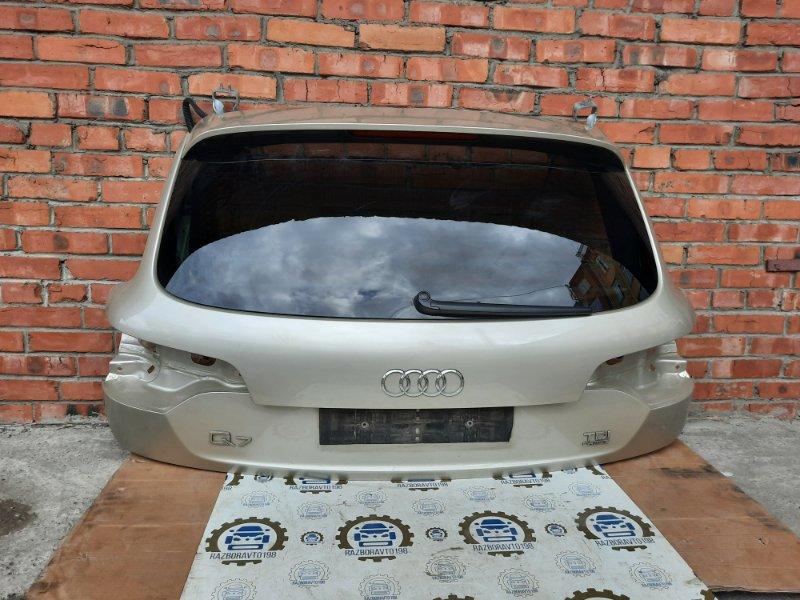 Крышка багажника Audi Q7 4L 3.0 TDI 2013 задняя (б/у)