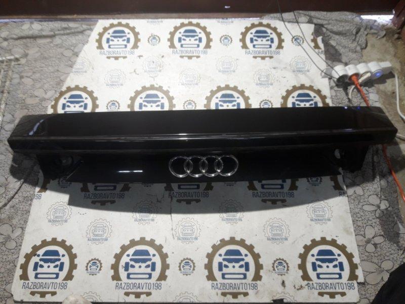 Спойлер багажника Audi A7 4G 2013 задний (б/у)