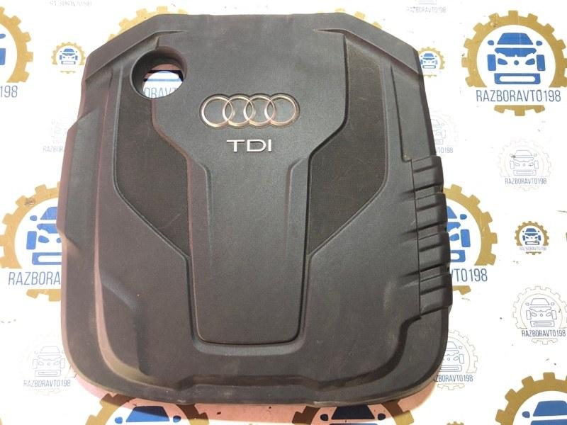 Крышка двигателя Audi A6 C7 2011 (б/у)