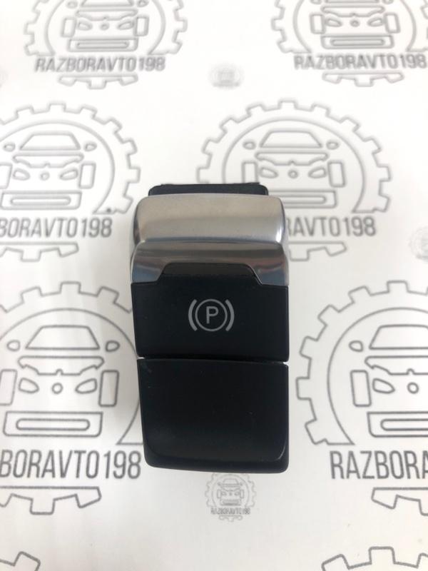 Кнопка фиксатора стояночного тормоза Audi A4 B8 2013 (б/у)