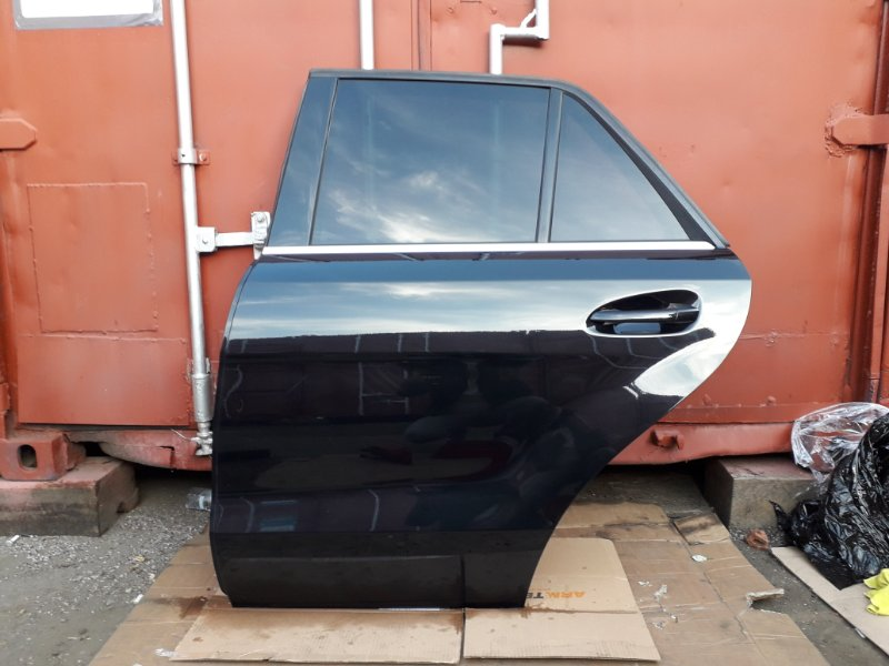 Дверь Mercedes Ml W166 2013 задняя левая (б/у)