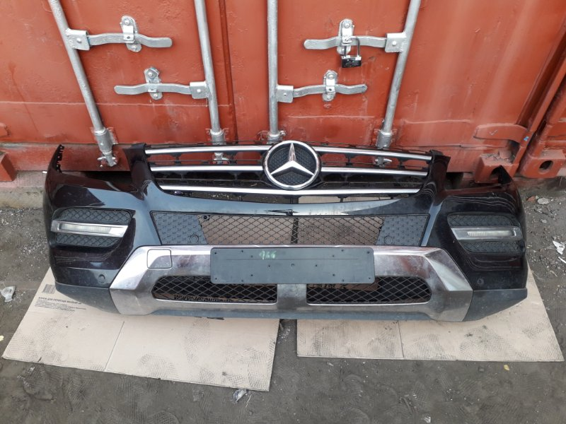 Бампер Mercedes Ml W166 2013 передний (б/у)