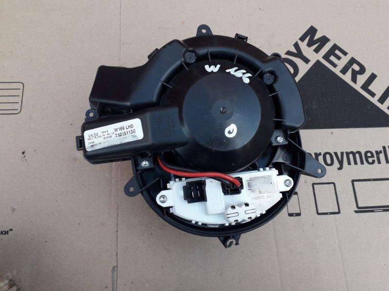 Мотор печки Mercedes Ml W166 2013 (б/у)