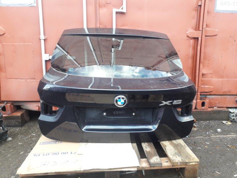 Крышка багажника Bmw X6 E71 2014 задняя (б/у)