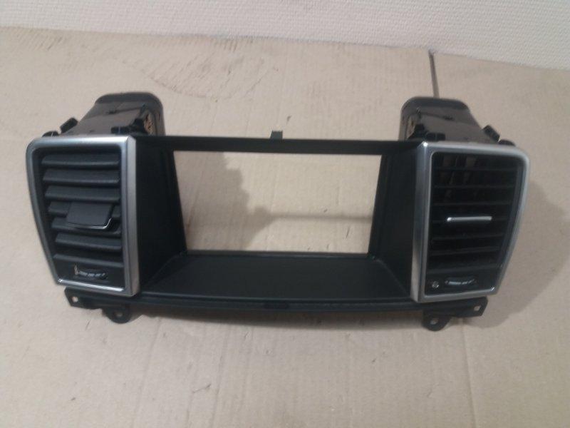 Воздушный дефлектор Mercedes Gl X166 2013 передний (б/у)