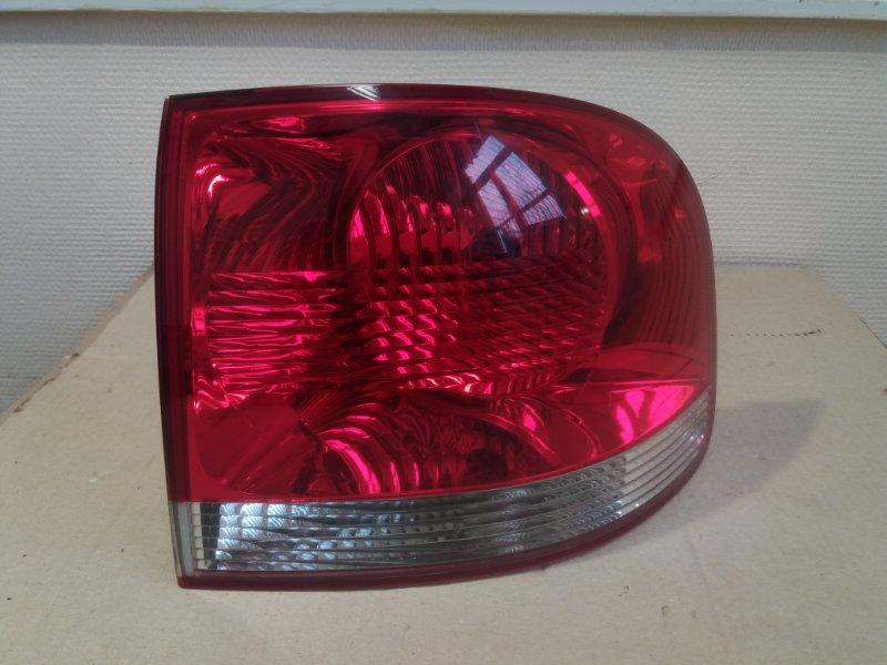 Фонарь наружный Volkswagen Touareg 7L 2.5 TDI 2008 задний правый (б/у)