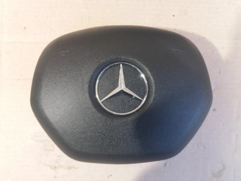 Аирбаг на руль Mercedes Gl X166 2013 передний (б/у)