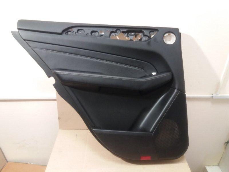 Обшивка двери Mercedes Ml W166 2013 задняя левая (б/у)