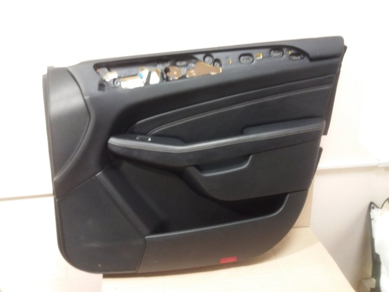 Обшивка двери Mercedes Ml W166 2013 передняя правая (б/у)