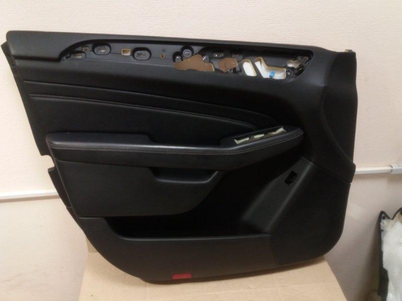Обшивка двери Mercedes Ml W166 2013 передняя левая (б/у)
