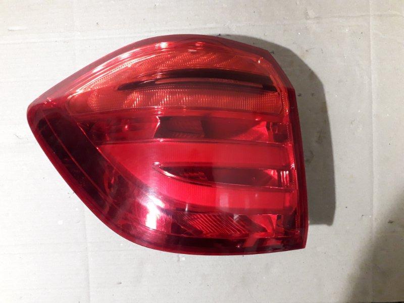 Фонарь наружный Mercedes Gl X166 2013 задний левый (б/у)