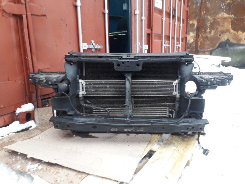Телевизор с радиаторами Volkswagen Touareg 7L 3.0 TDI BUG 2006 передний (б/у)
