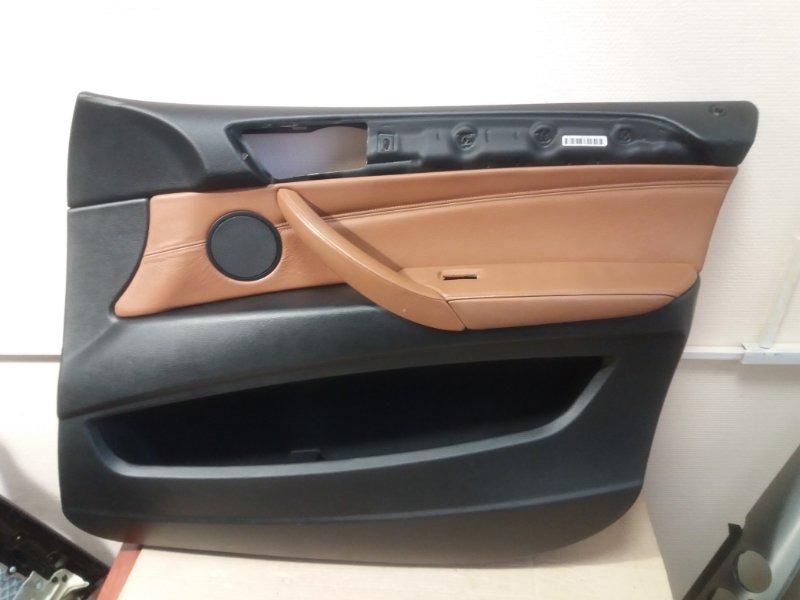 Обшивка двери Bmw X6 E71 2014 передняя правая (б/у)