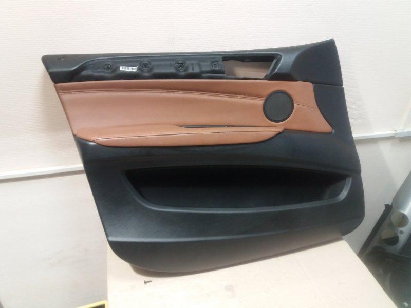 Обшивка двери Bmw X6 E71 2014 передняя левая (б/у)