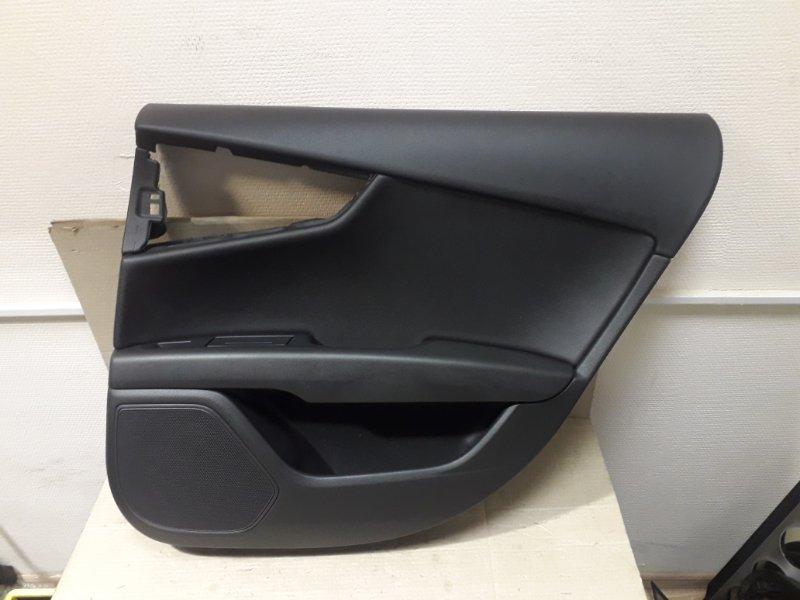 Обшивка двери Audi A7 4G 2013 задняя правая (б/у)