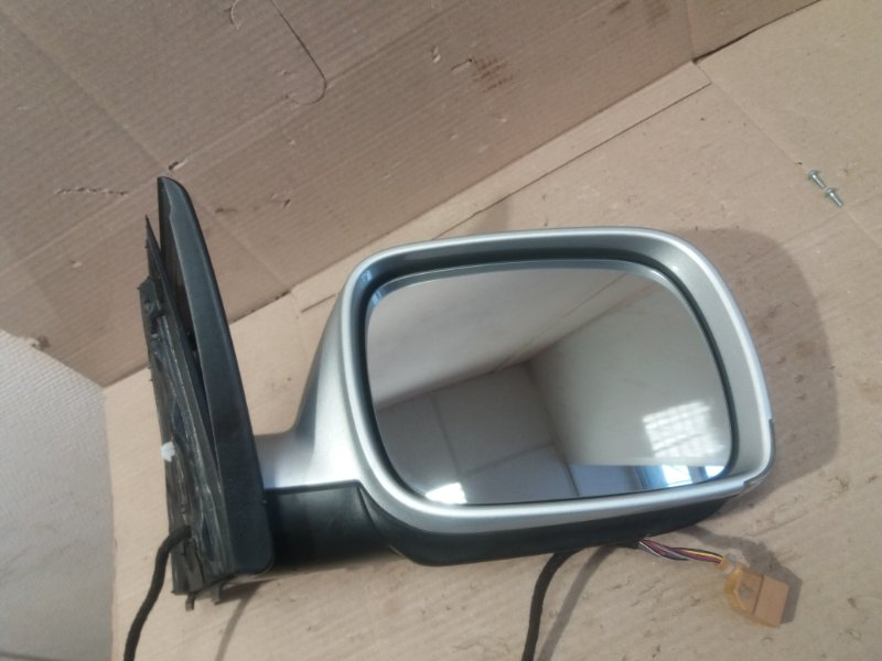 Зеркало заднего вида Volkswagen Touareg 7L 3.0 TDI BUG 2006 переднее правое (б/у)