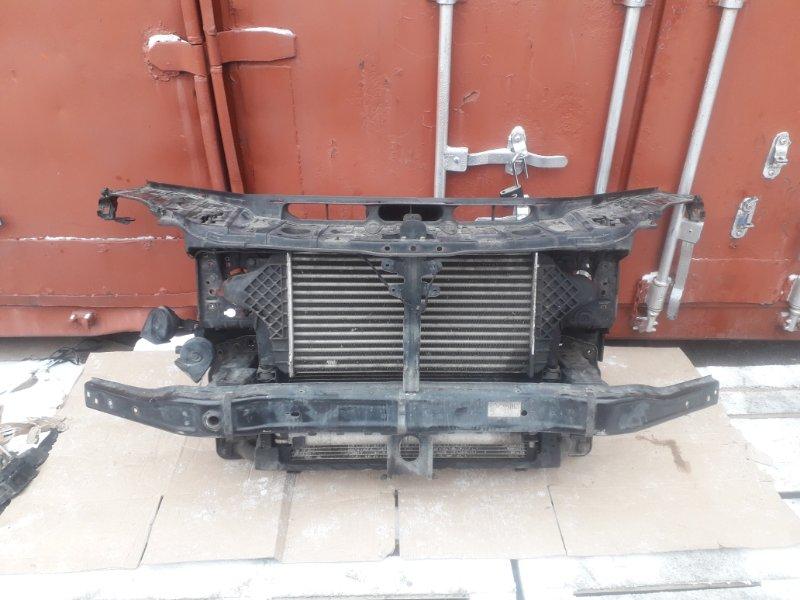 Телевизор с радиаторами Mercedes-Benz Gl-Class X166 2013 передний (б/у)