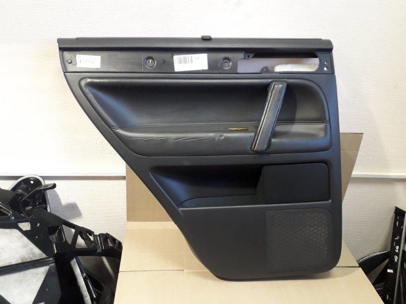 Обшивка двери Volkswagen Touareg 7L 3.0 TDI BUG 2006 задняя левая (б/у)