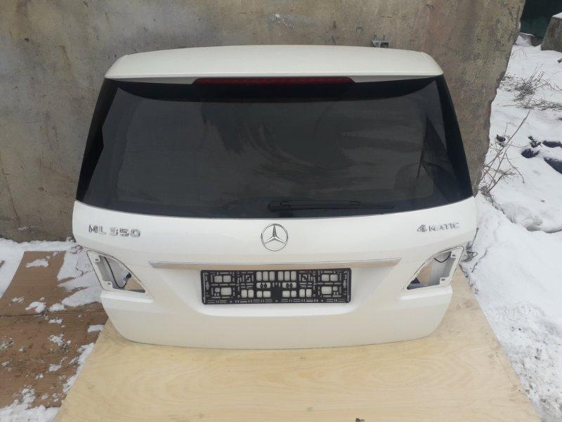 Крышка багажника Mercedes-Benz Ml-Class W166 2013 задняя (б/у)