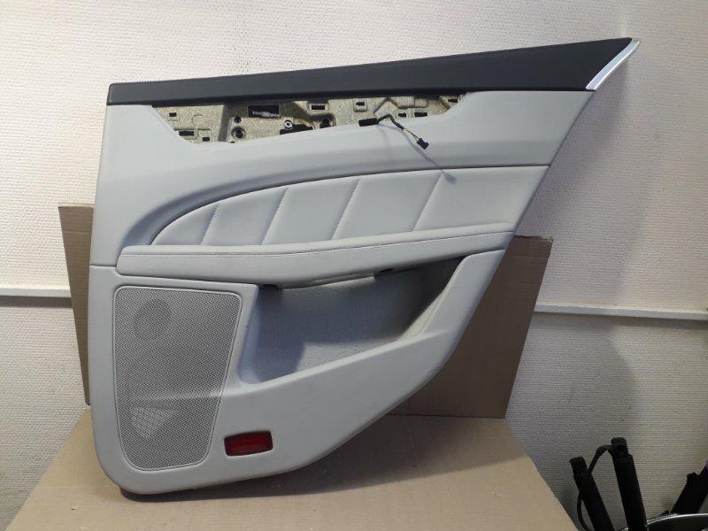 Обшивка двери Mercedes-Benz Cls- Class W218 2012 задняя правая (б/у)