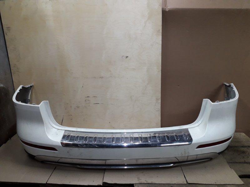 Бампер Mercedes-Benz Ml-Class W166 2013 задний (б/у)