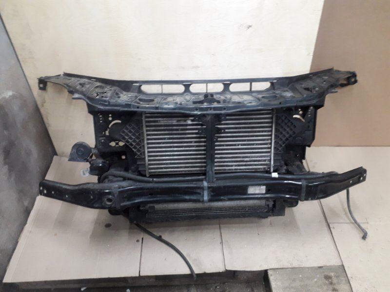 Телевизор с радиаторами Mercedes-Benz Ml-Class W166 2013 передний (б/у)