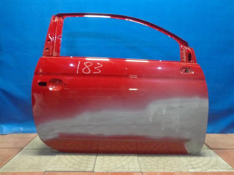 Дверь Fiat 500 312 2008 передняя правая (б/у)