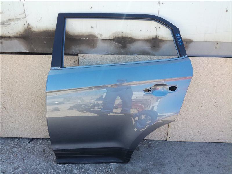 Дверь Hyundai Creta GS 2016 задняя левая (б/у)