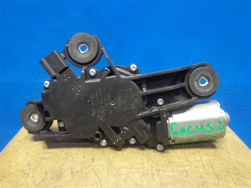 Моторчик стеклоочистителя Ford Focus 2 CB4 2005 задний (б/у)