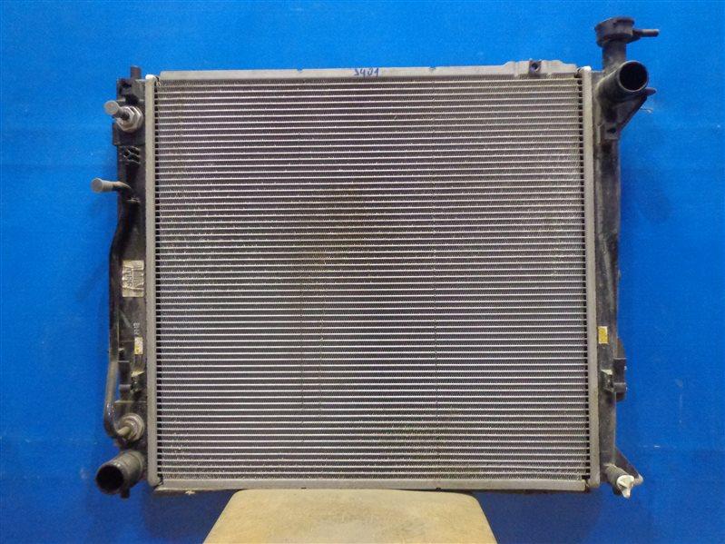 Радиатор охлаждения Hyundai Santa Fe DM 2012 (б/у)